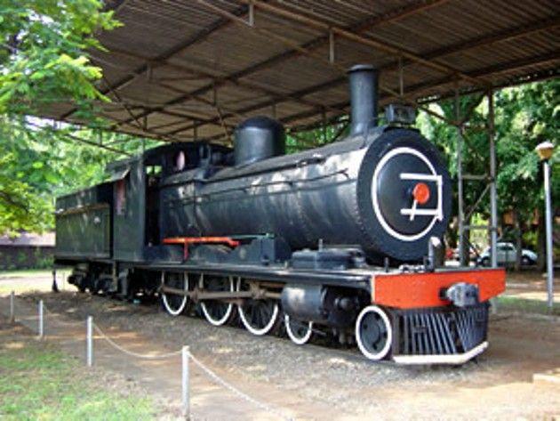 Barberton Steam Locomotive