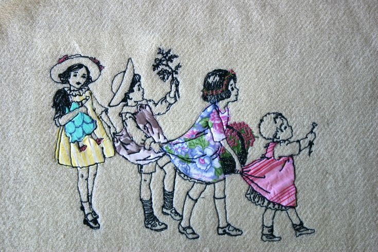 freehand machine embroidery and collage   I always wanted to…   Flickr