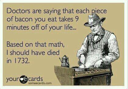 I fuckin' love bacon!!!: Giggle, Funny Stuff, Bacon, Funnies, Humor, Ecards, E Cards