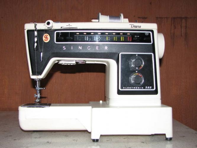 Singer Diana Electronic 560 My First Machine My