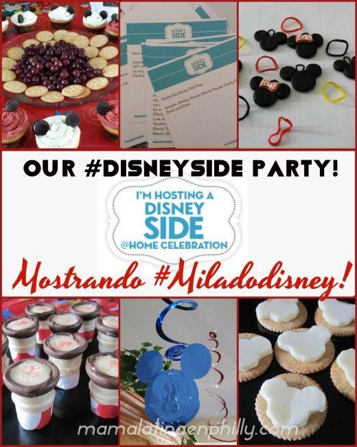 Mi fiesta de Disney! My #DisneySide party!