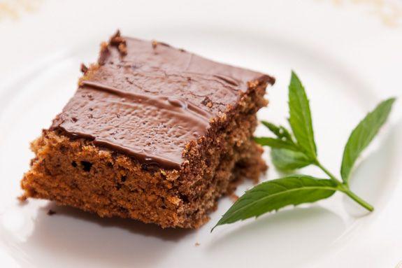 Kávé és Csokoládé: Gyömbéres- csokoládés sütemény
