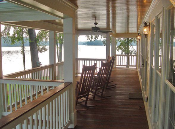 Porch | Southern Cottages. House Plans ...