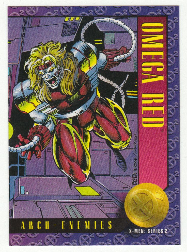 X-Men Series 2 - Omega Red # 50 Skybox 1993