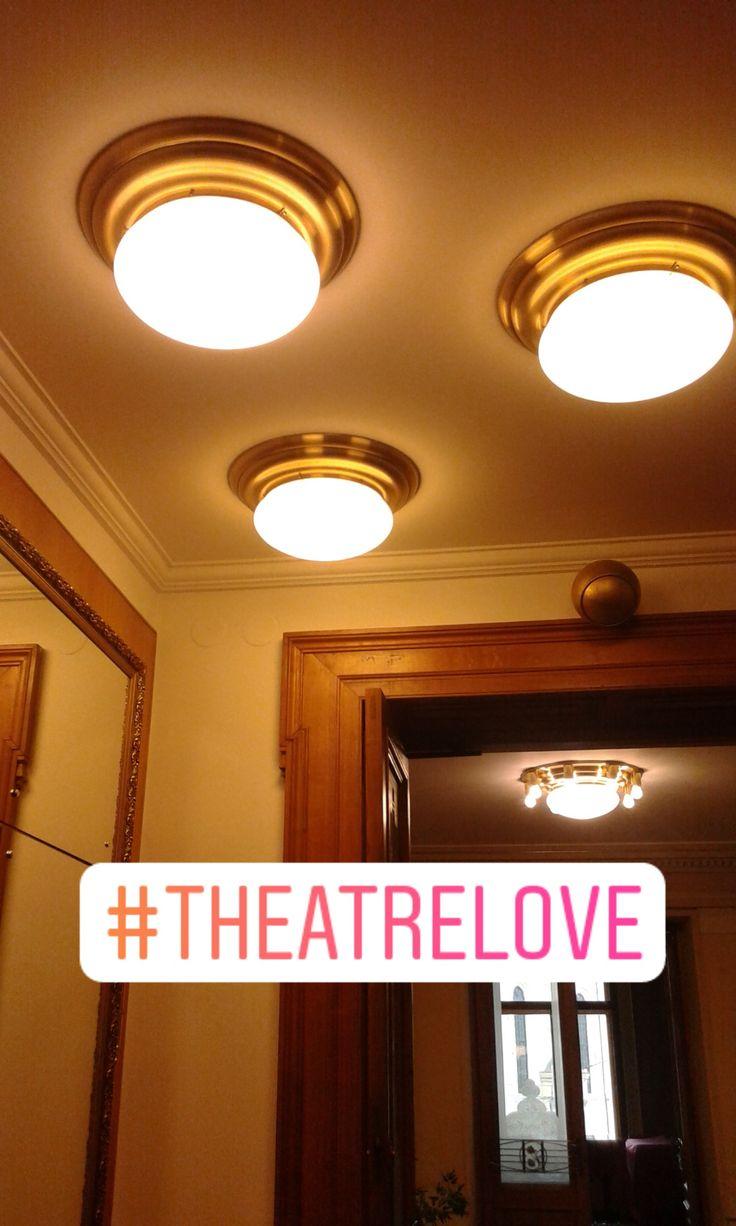 A bit of culture in my life - theatre. via Instagram stories of @quaintrelle.georgiana  https://www.instagram.com/quaintrelle.georgiana/ | Georgiana Quaint