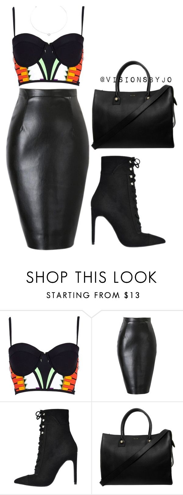 """""""Untitled #1141"""" by visionsbyjo ❤ liked on Polyvore featuring River Island, Jeffrey Campbell, Paul & Joe and Agnes de Verneuil"""