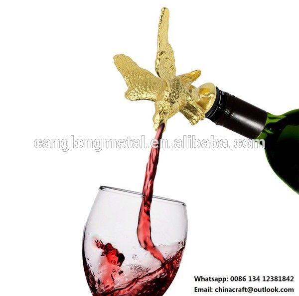 Check out this product on Alibaba.com App:FDA metal animal golden bird wine pourers https://m.alibaba.com/nuMVbu