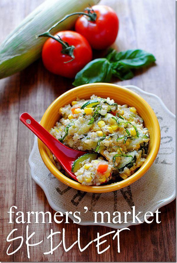 Farmers Market Skillet | iowagirleats.com