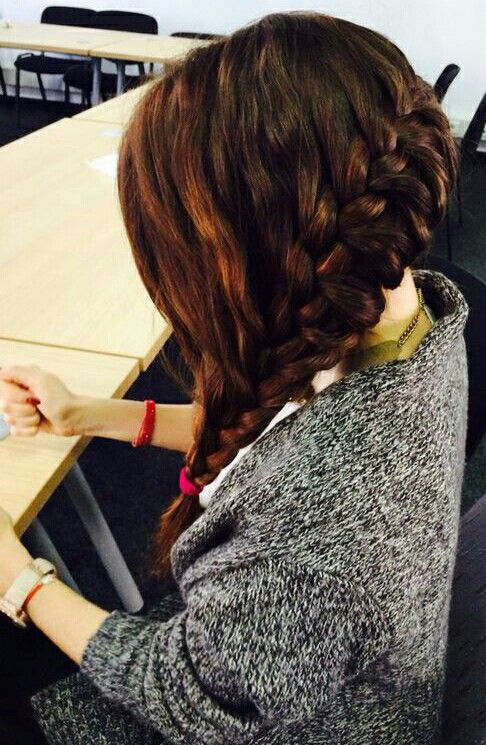 Beautiful braid for long hair