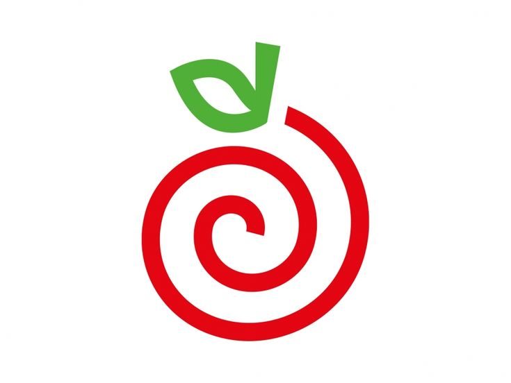 Apple Vector Logo Element