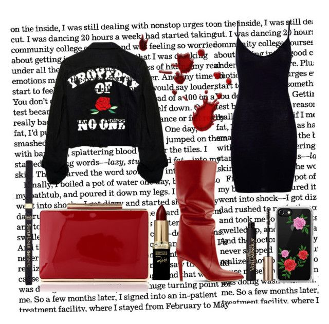 """🌹🌹🌹"" by kleefashion on Polyvore featuring Boohoo, Casetify and L'Oréal Paris"