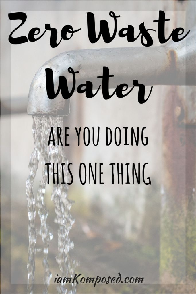 Save tons of water with this one tip. Is saving water part of your zero waste lifestyle? Water is a precious resource, even when there seems to be plenty of it.
