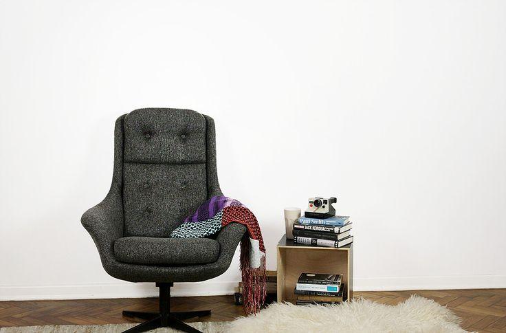 Fotel polski vintage - Lubuskie Fabryki Mebli w Świebodzinie