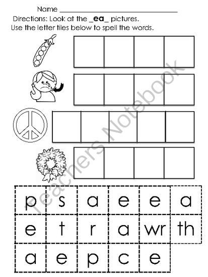 11 best Reading ideas images on Pinterest Word families, Long