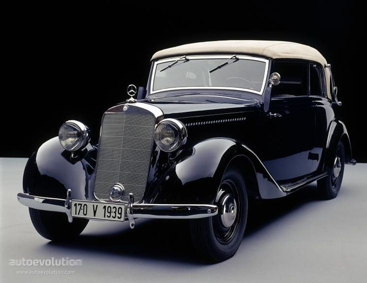 1942 MERCEDES BENZ 170 V Cabriolet B (W136)