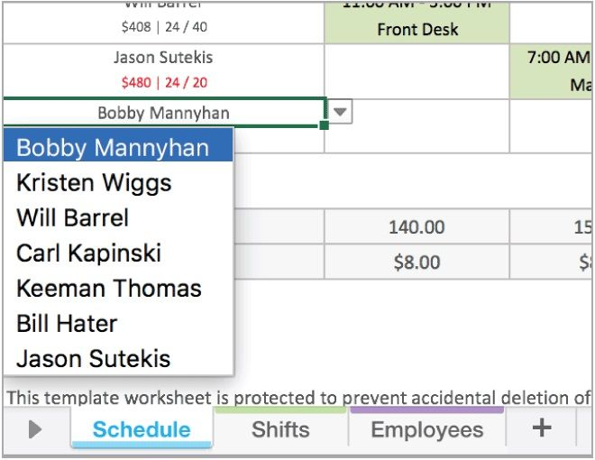Nurse Daily Schedule Template Excel Daily Schedule Template