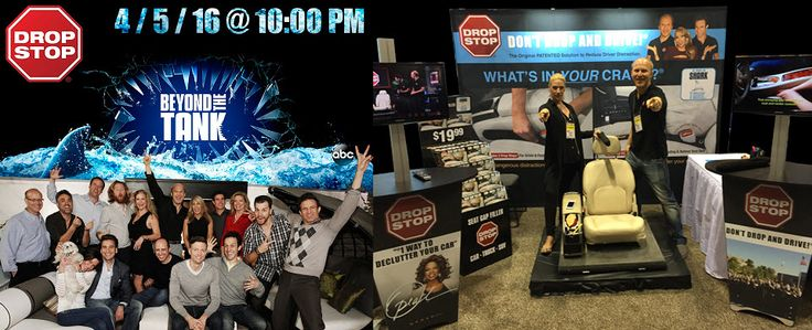 Proud of our client Drop Stop who we created their trade show display and was profiled on Shark Tanks new show Beyond the Tank this week!