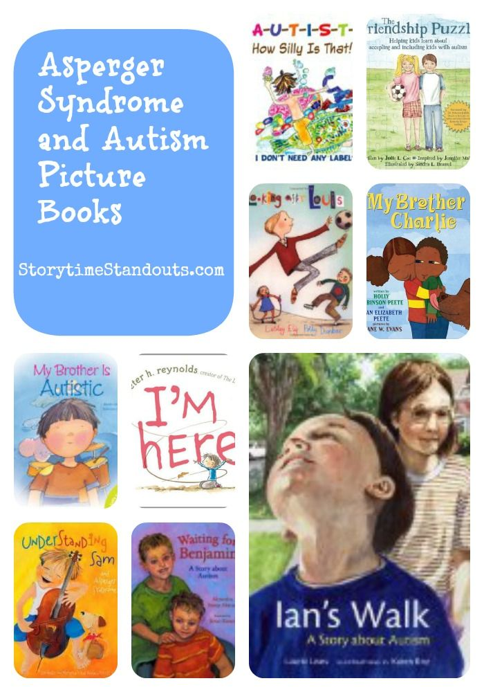 Great picture book suggestions with detailed annotations that include whose perspective the story shares (classmate, family member, etc.) An excellent resource for schools, families #Autism #ASD #Aspergers