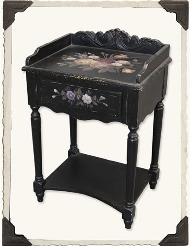 Black Forest Side Table From Victorian Trading