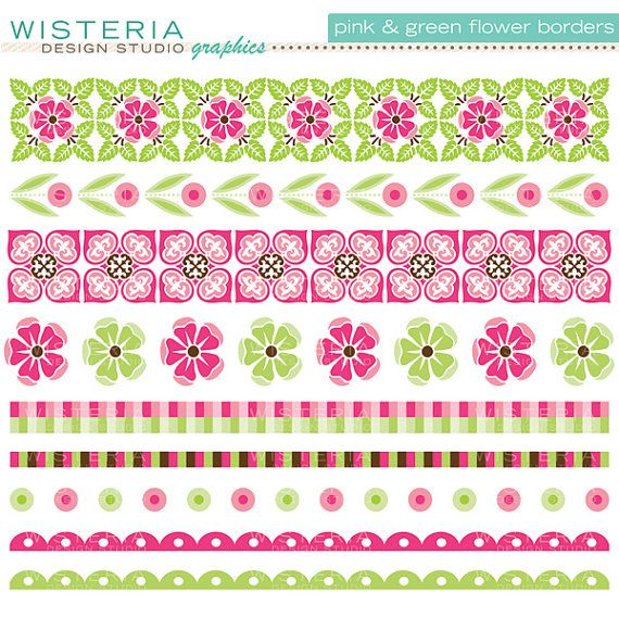 Floral Page Border Designs Free