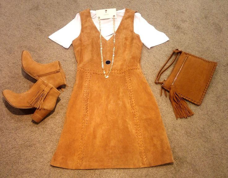 You can't go wrong with suede! Love this look!