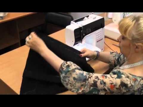 costurando uma saia ( em russo)