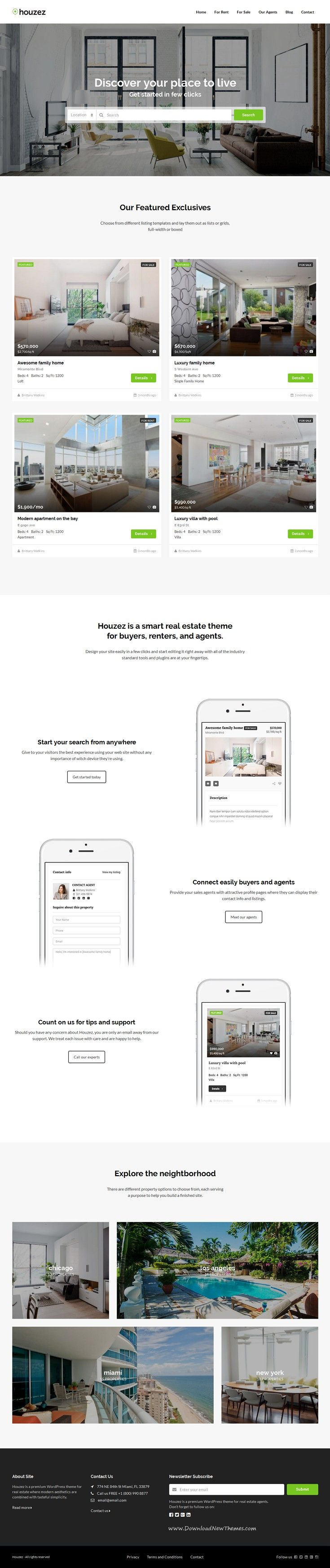 Houzez is a professional WordPress theme designed for real estate agents and…