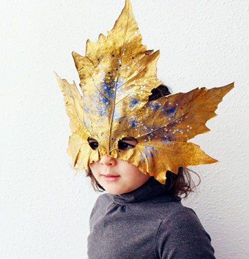 Haz una máscara de carnaval reciclando hojas del parque Carnaval Diy, Diy Disfraces, Easy Art Projects, Forest School, Leaf Art, Nature Crafts, Diy Party, Diy For Kids, Cool Designs