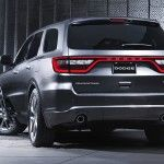 2016 dodge durango rear view latest edition