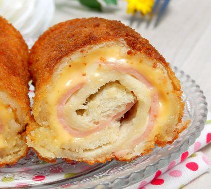 La recette du jour: les roulés panés au jambon fromage, parfaits pour les plus pressés!