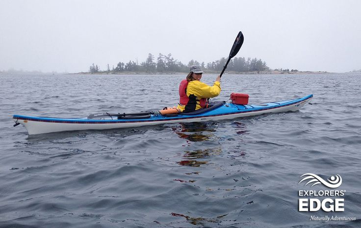 """Kayaking with Whitesquall on Georgian Bay.  www.explorersedge.ca  White Squall was born in 1985 with the simple desire to share the outdoors and paddling with others. Beginners of all ages, experience the fun of paddling with us in a quiet and easy way.  Our name came from the late Stan Roger's song """"White Squall"""", a haunting ballad that captures the mystery and power of Georgian Bay.  http://www.whitesquall.com"""