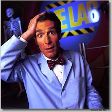 Bill Nye - undeniably, the best part of any elementary/ middle school science class.