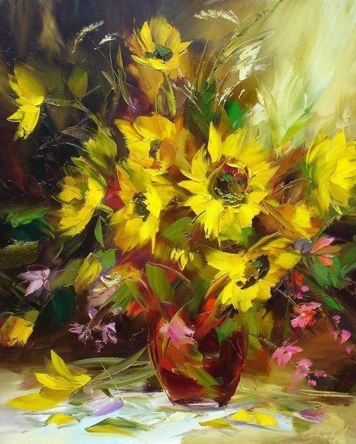 art-and-dream:    Art painting still lifeAlexander Sergeev
