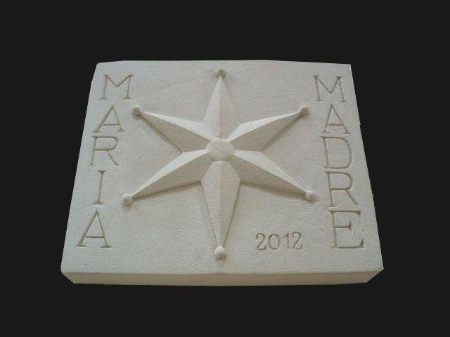 1000 images about placas logotipo de empresa con piedra - Placas de piedra artificial ...