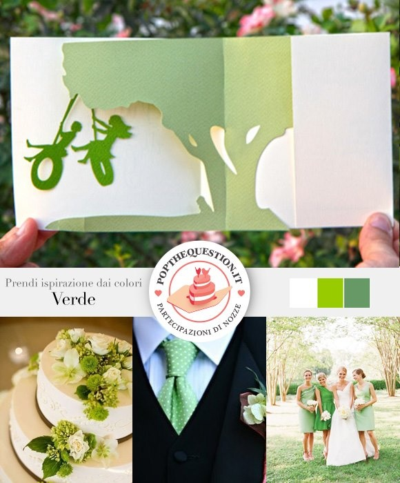 Il matrimonio in verde. #wedding #popup
