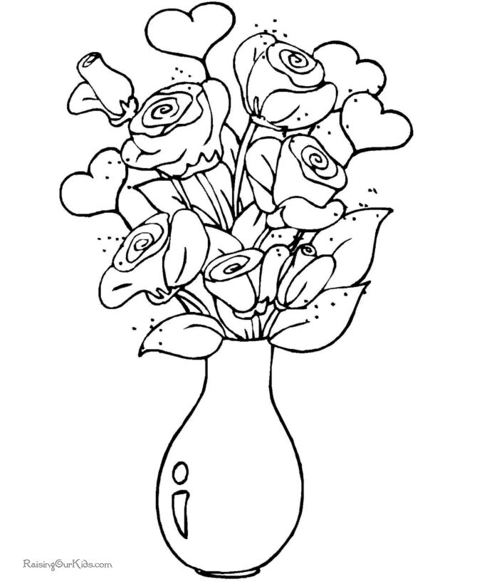 Easter Flowers Colouring Pages : 265 best flower pic images on pinterest