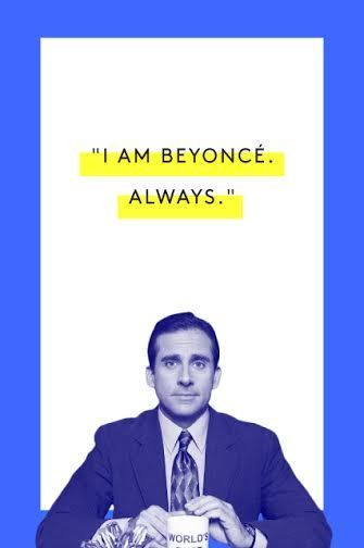 The Tao Of Michael Scott #refinery29  http://www.refinery29.com/2015/03/83753/michael-scott-office-quotes#slide-4  Honestly, think about the kind of things you would get done if you woke up everyday and said this to yourself.Watch here