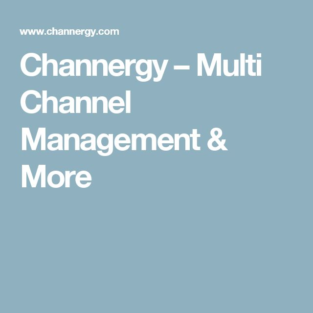 Channergy – Multi Channel Management & More