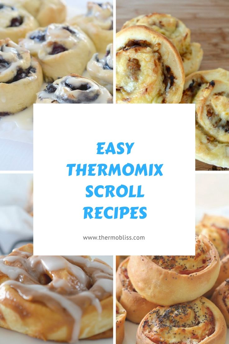 Wonderful collection of Easy Thermomix Scroll Recipes from @thermoblissblog