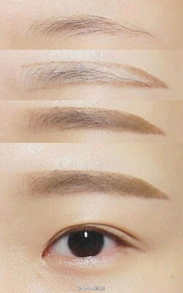 How to Get Korean Straight Eyebrows Without Plucking | Preview.ph