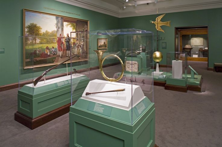 Explore both permanent and temporary exhibits and fine and decorative arts, books, and manuscripts linked directly to George Washington's life and times across the museum's seven galleries in the Donald W. Reynolds Museum and Education Center.