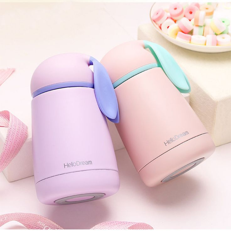Women Candy Color Thermos Stainless Steel Vacuum Flasks Thermoses Travel Mug School thermocup My Water Bottle Sport Kids купить на AliExpress