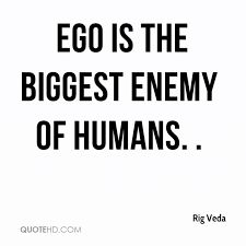 """The word ego has its origin in Latin where it translates to """"I myself."""" Many people may equate ego with self respect but it largely represents a degree of arrogance which the person himself may not be aware of. Ego is a feeling which is born in the mind and may not have any basis in reality. The person who thinks in terms of his ego generally focuses on the ' I,' ' Me' and 'Myself' syndrome."""