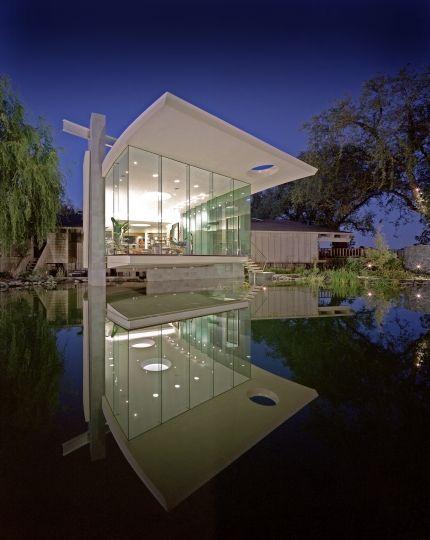 Awesome Lakeside Studio in California by Mark Dziewulski Architect