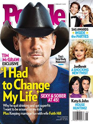 Tim McGraw's Weight Loss and Quitting Drinking: PEOPLE Magazine Cover Story : People.com