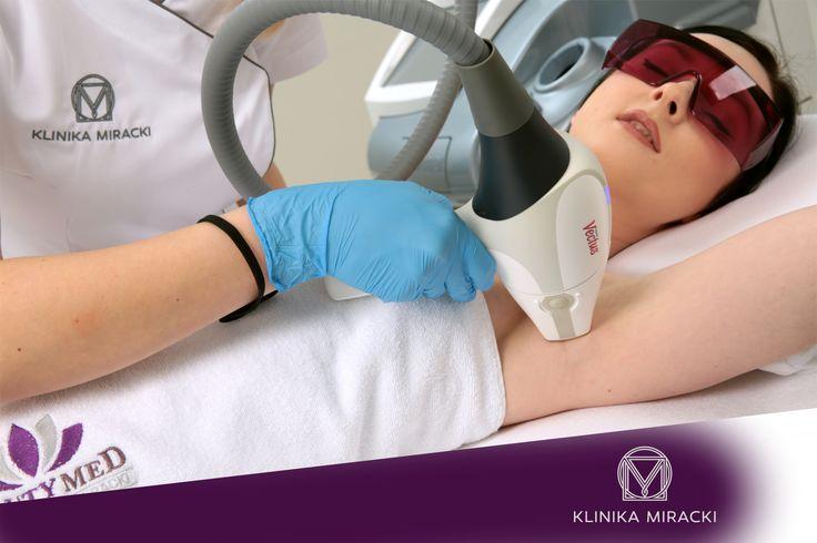 Laser depilation VECTUS / Depilacja laserowa VECTUS