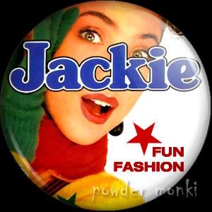 Jackie Magazine 2 - Badge/Magnet ~ www.powdermonki.co.uk ~ £0.99
