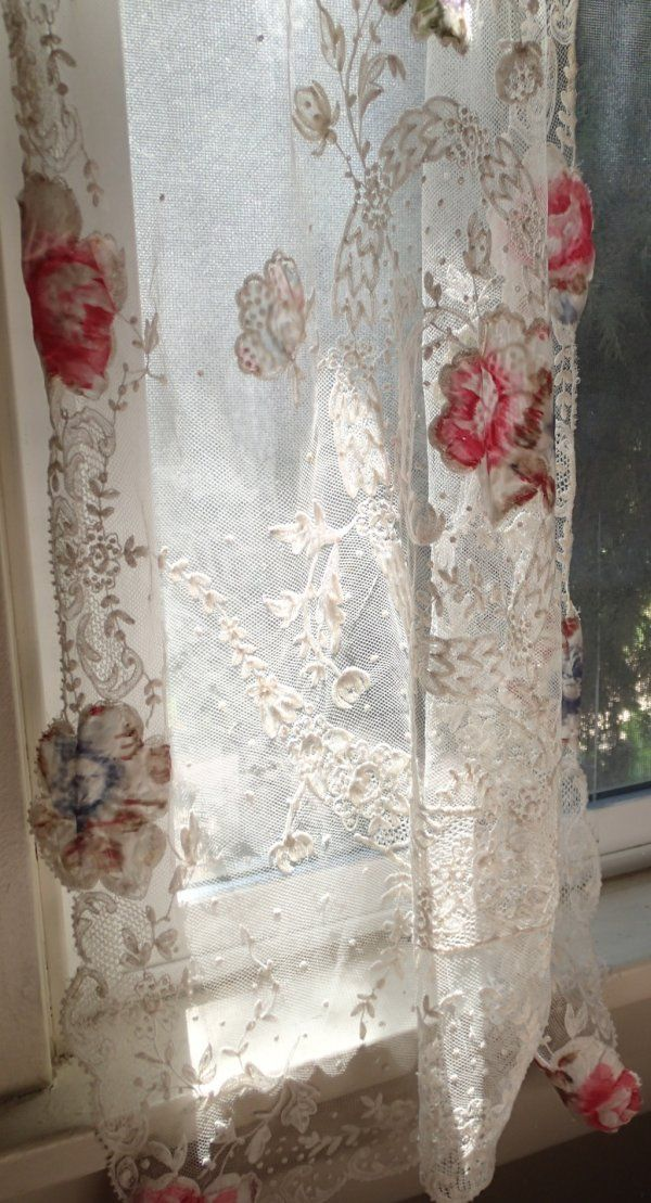 78 Best images about LACE & VOILE CURTAINS on Pinterest ...