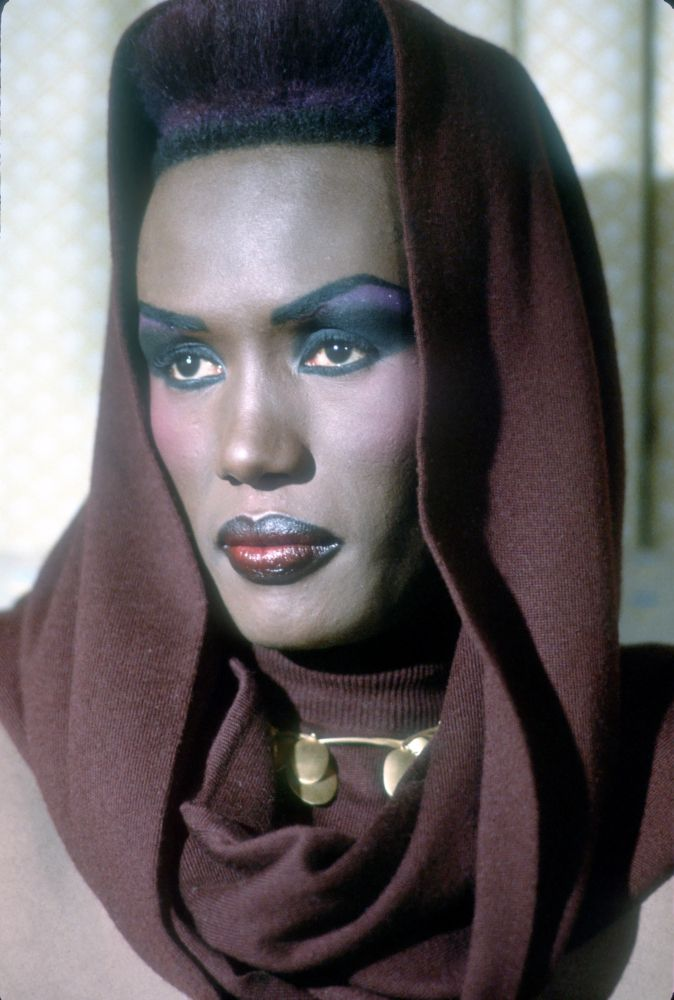 "Grace Jones Before penning electro dance hits like ""Pull Up to the Bumper"" and showing off her acting chops in ""Conan the Destroyer"" and ""Boomerang,"" Jones' started out as a model for Andy Warhol."