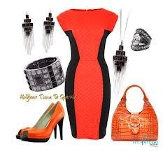 Orange and Black Combo